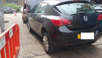 VAUXHALL ASTRA EXCLUSIVE 16V